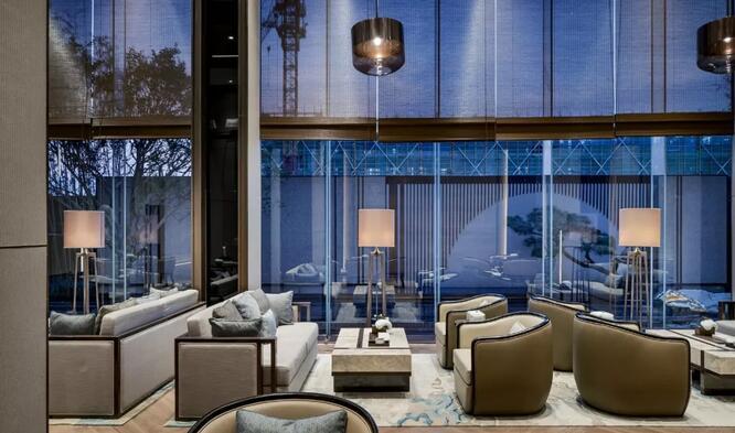 项目地址:杭州 项目开发:阳光城集团 设计公司:klid达观国际设计事务